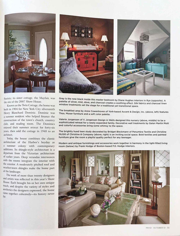 Maine Home & Design | NY Interiors